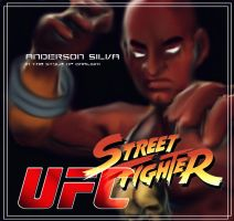 Anderson Silva/Dhalsim by FictionFathersArtist