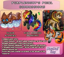 Pixel Commissions Info 2015 by PurpleNightTheKitty