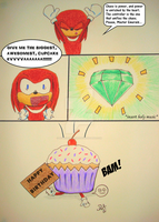 Gift: Knuckles Summons...? by HybridShadowz