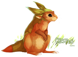 Chespin by Susiron