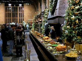 the tour starts harry potter WB.Great Hall by Sceptre63