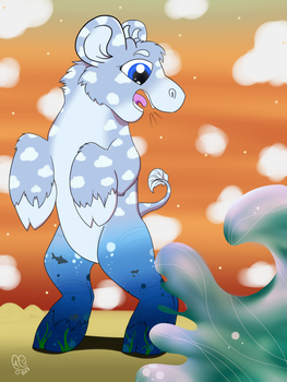 When Water Touches The Sky - Neopets BC Entry by Caitybee