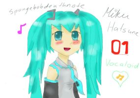 Miku (better) by spongebobdeathnote