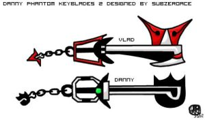 DP Keyblades 2 by subzeroace