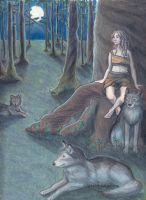 Wolf Girl by selie