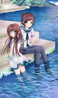 Nagi No Asukara Onwards To School by blavk
