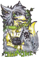 Shashe badge for fursuit by Wildloverwithwolfs