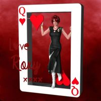 Roxy - Queen of Hearts by PoserGirlsInTrouble