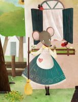 vain little mouse by cocinando-colores