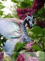 OOAK Amphithere Dragon by LilacGrove