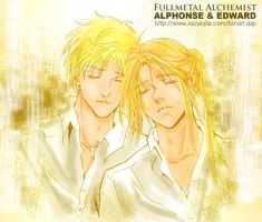 Alphonse and Edward by ladykylie