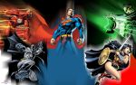 DC Big Five by Xionice