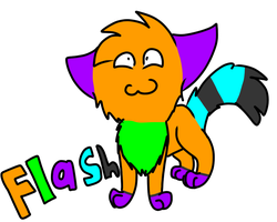 My name is Flash by FlashiePaws