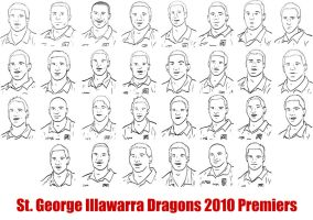 Dragons 2010 Premiers by ShadnicFusion