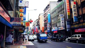 Street in Taipei by cullets