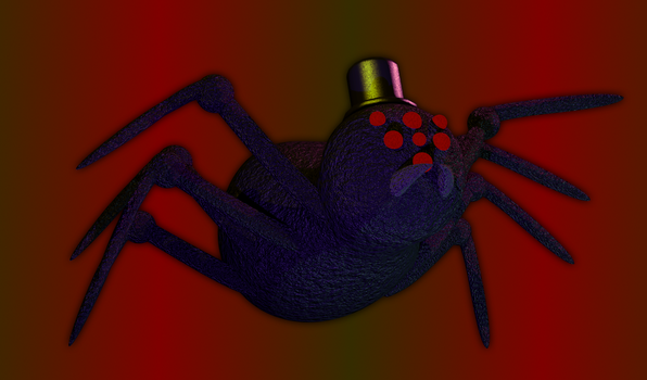 Baylor The Spider (Fazbear's Return) by Joshiriah