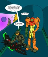 Metroid-Halo crossover 3 by Wakeangel2001