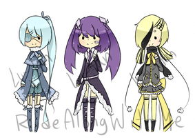 [CLOSED] Collab Adoptables: Lu-tan-AlongWithMe by RideAlongWithMe