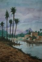 by the nile by yamenhazem