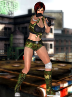 Mila(Military Fighter) Dead or Alive 5 Last Round by XKammyX