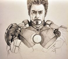 Iron Man by ChineseWarri0r