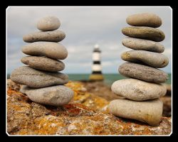 Stones at Penmon 5 by Grunvald