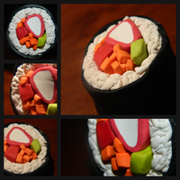 Sushi Magnets by Yunaire