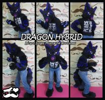 Dragon Hybrid- Partial Fursuit by TheGreenCoyote