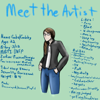 Meet The Artist by gabsters109