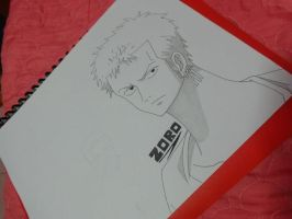 One Piece Zoro :D by lyneixlynn