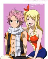 Secret hair Natsu by aquamarine1703