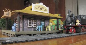 Ponyville Railway Station by Soobel