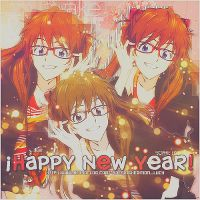 Happy New Year Asuza by SophieRawwr