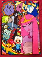 Adventure Time - tokidoki style! by lexemon