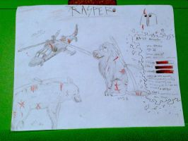 Rasper Character temp wolf helicopter by Minionwolf711