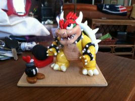 Bowser Valentine by DragonsFlameMagic