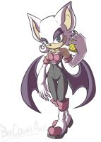 Rouge the Bat by CountAile