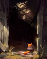 Into the Barn by sprogis7
