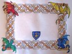 Dragons and Knots Scroll by Skylanth