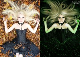 Before and After - Radioactive by TaniaART