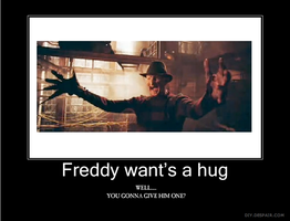 Freddy wants a hug by herra97
