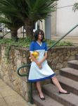 Rukia in blue dress... by bruhway