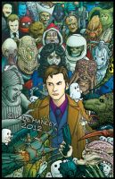 David Tennant- Rogues' Gallery by PaulHanley