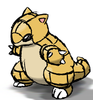 Sandshrew :D by mssingno
