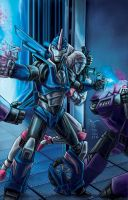 Arcee- Transformers Prime by artrobot9000