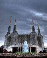The Mormon Temple by ericaface