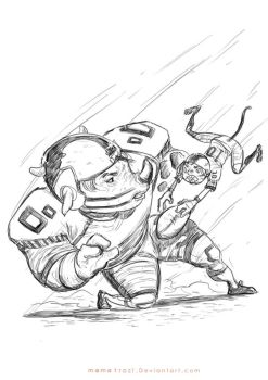 Daily-Sketch_Catching Ball by mamatrozi