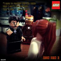 Iron Man 3 Scene by areev19