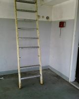 old factory ladder by priesteres-stock