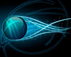 Abstract Glass Ball Wallpaper by m4co